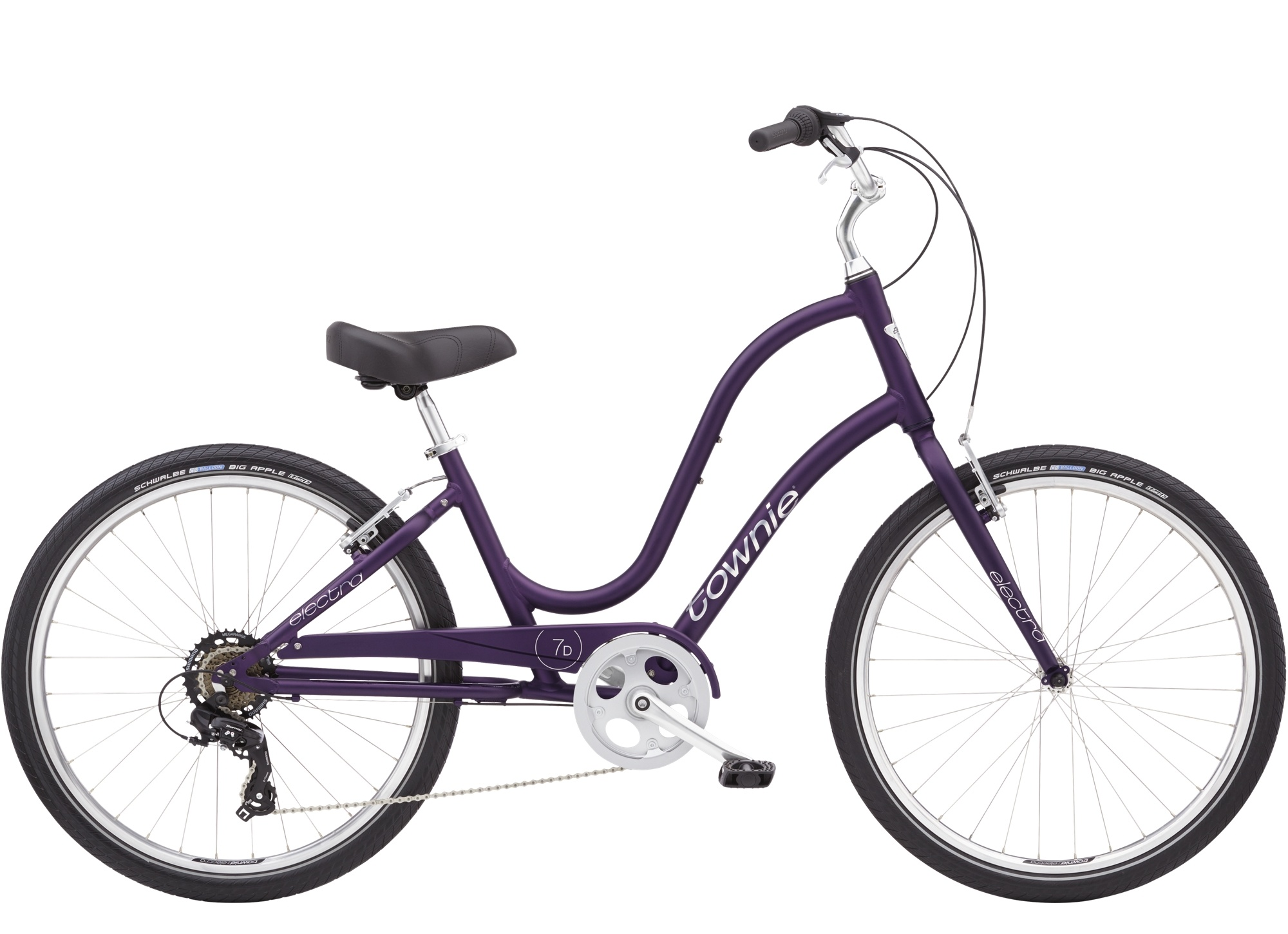 Townie 7D Step Thru 26 Matte Violet