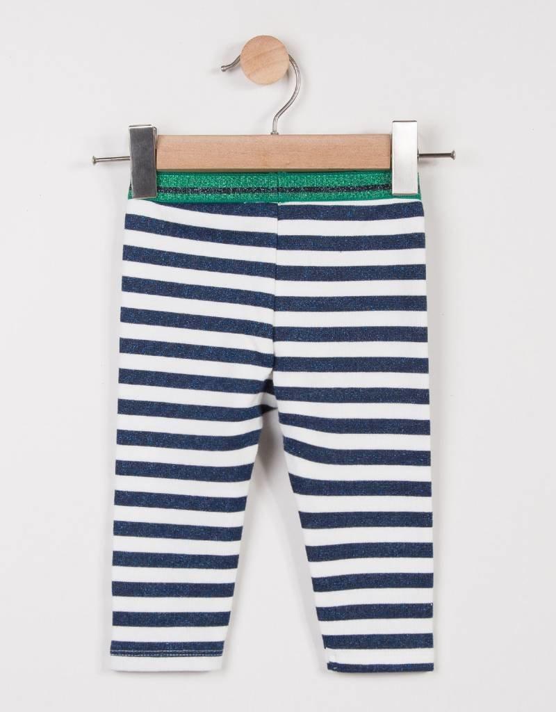 Catimini Blue Stripe Legging