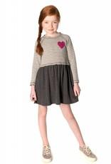 Appaman Grey Stripe Dress