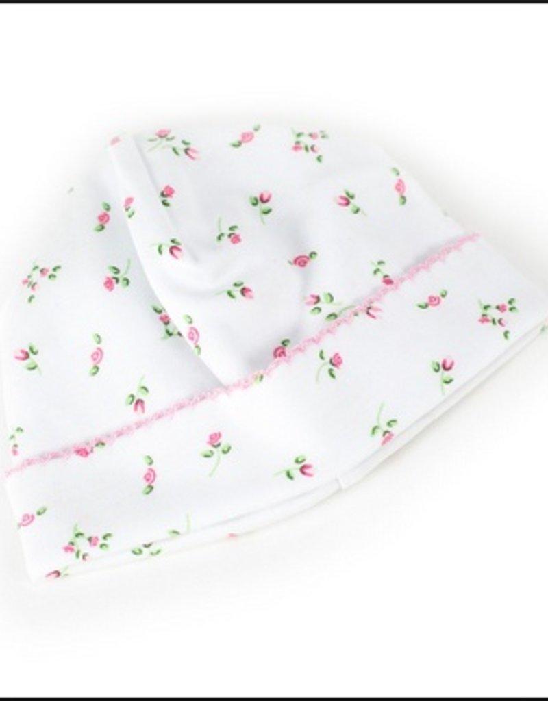 Kissy Kissy Garden Rose Print Hat