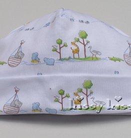 Kissy Kissy Noah's Print Hat Blue