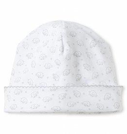 Kissy Kissy Ele-Fun Print Hat Silver