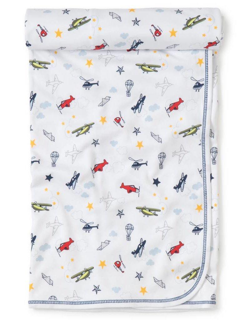 Kissy Kissy Aviators Print Blanket