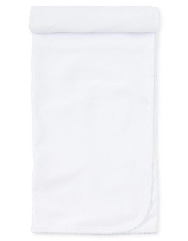 Kissy Kissy Kissy Basic Blanket White\Blue