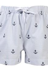 Patachou Boys Anchor Stripe Swim Shorts