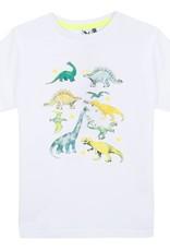 White Dino Photoprint Tee