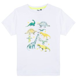 White Dino Photoprint Tee