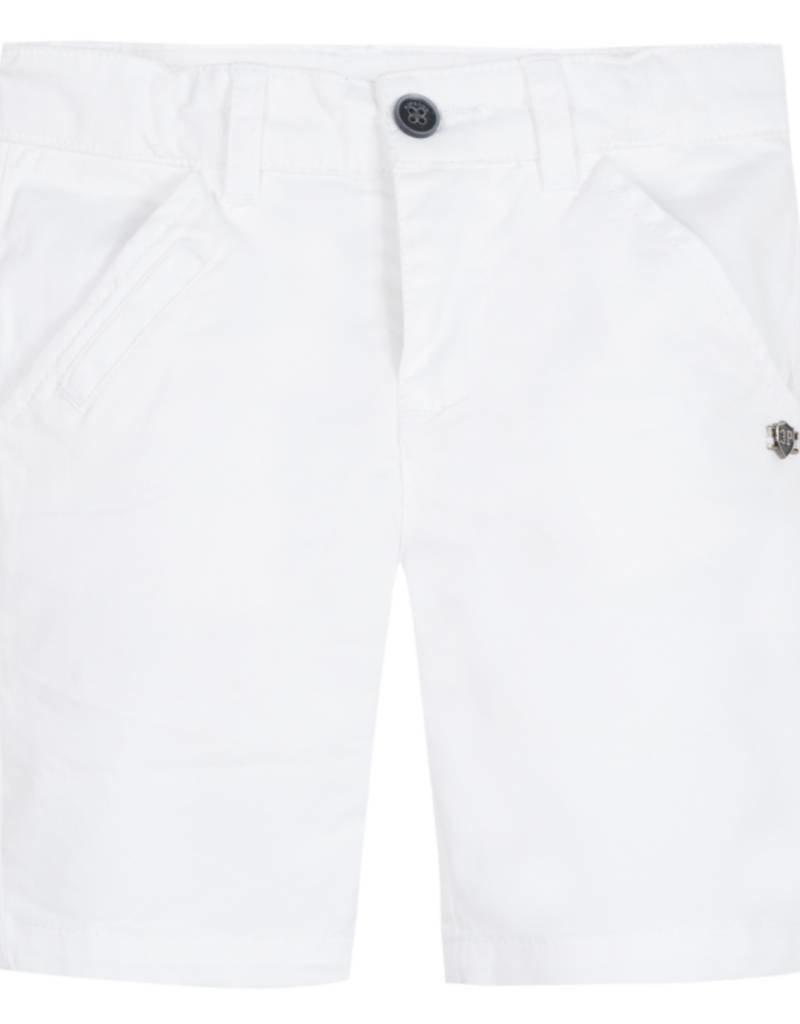 White Bermuda Chino