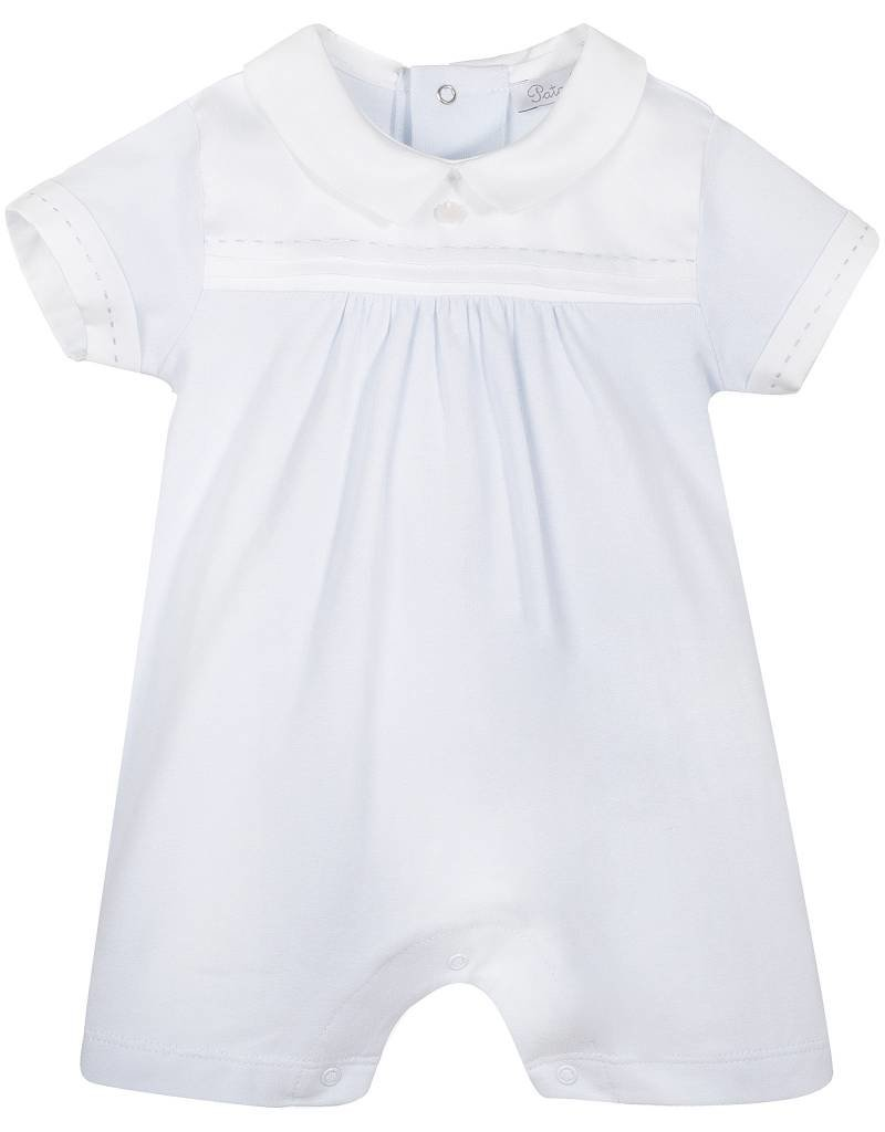 Patachou Baby Boy Blue Knit Romper