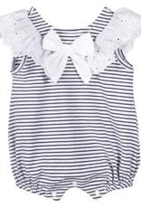 Patachou Girl Navy Stripe Bubble