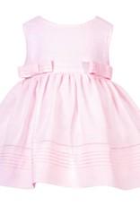 Patachou Pink Linen Bow Dress