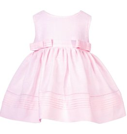 Patachou Pink Linen Bow Dress