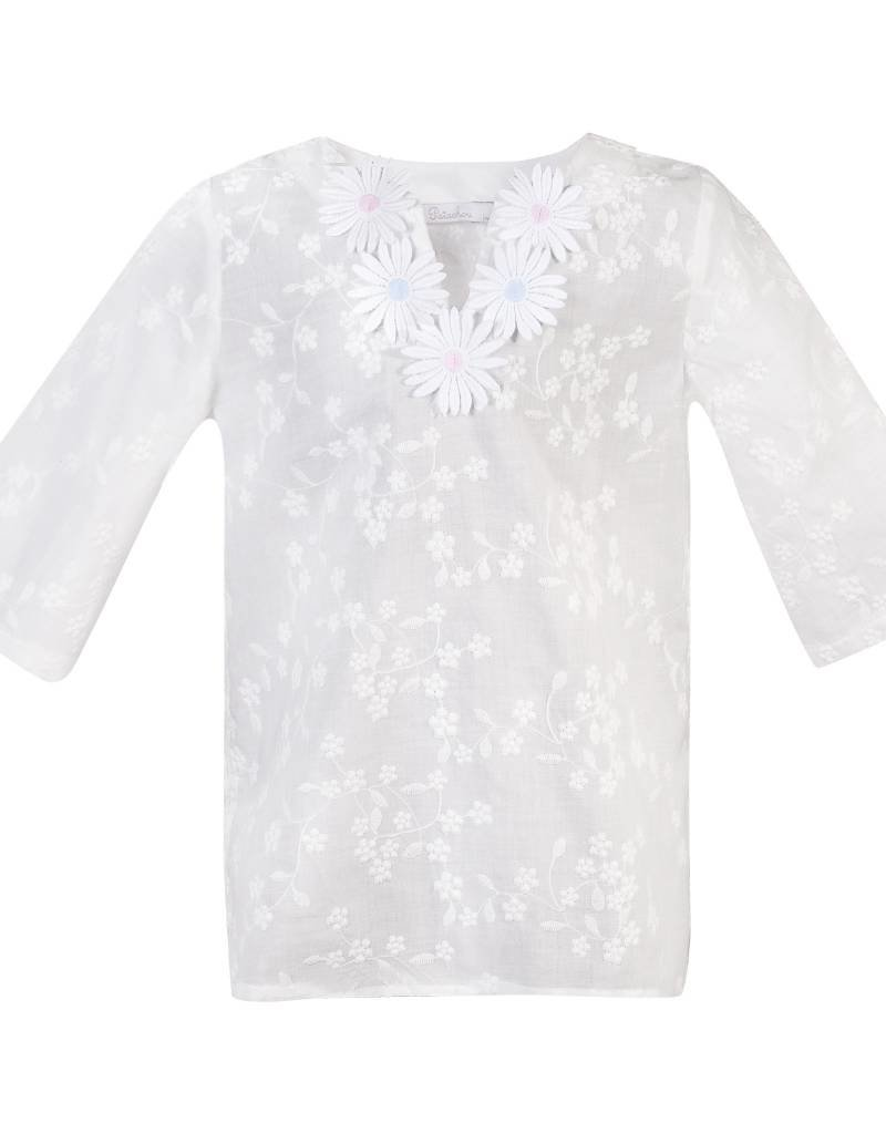 Patachou Girl Embroidered Swim Tunic