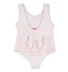 Lili Gaufrette Light Pink Ruffle Swim Suit