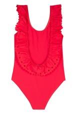 Lili Gaufrette Neon Pink Goody Swim Suit