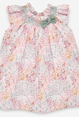 paz rodriguez Baby Girl Pink & Mint Dress & Bloomers