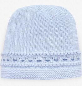 paz rodriguez Baby Boy Blue Knit Hat