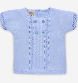 paz rodriguez Baby Boy Blue Sweater Set