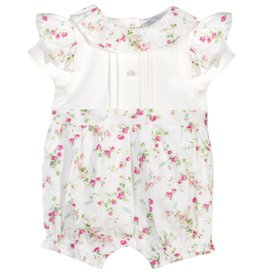 Patachou Baby Girl Liberty Print Romper