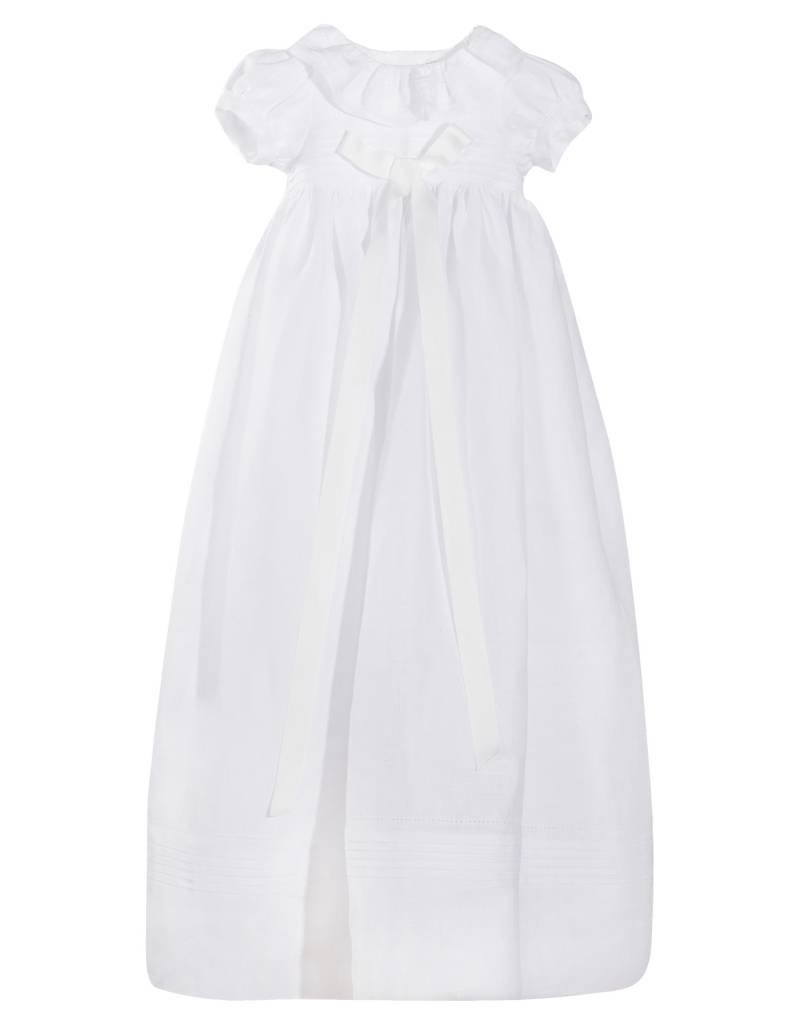 Patachou Girl White Baptism Dress & Bonnet