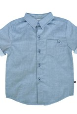 Fore Axel & Hudson Boys Green Button Down Shirt