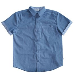 Fore Axel & Hudson Boys Blue Buttonn Down Shirt