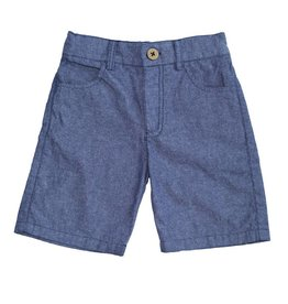 Fore Axel & Hudson Boys Chambray Bermuda Shorts