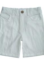 Fore Axel & Hudson Boys White Bermuda Short
