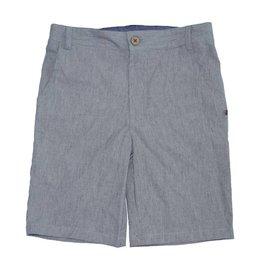 Fore Axel & Hudson Boys Dark Grey Pinstripe Shorts