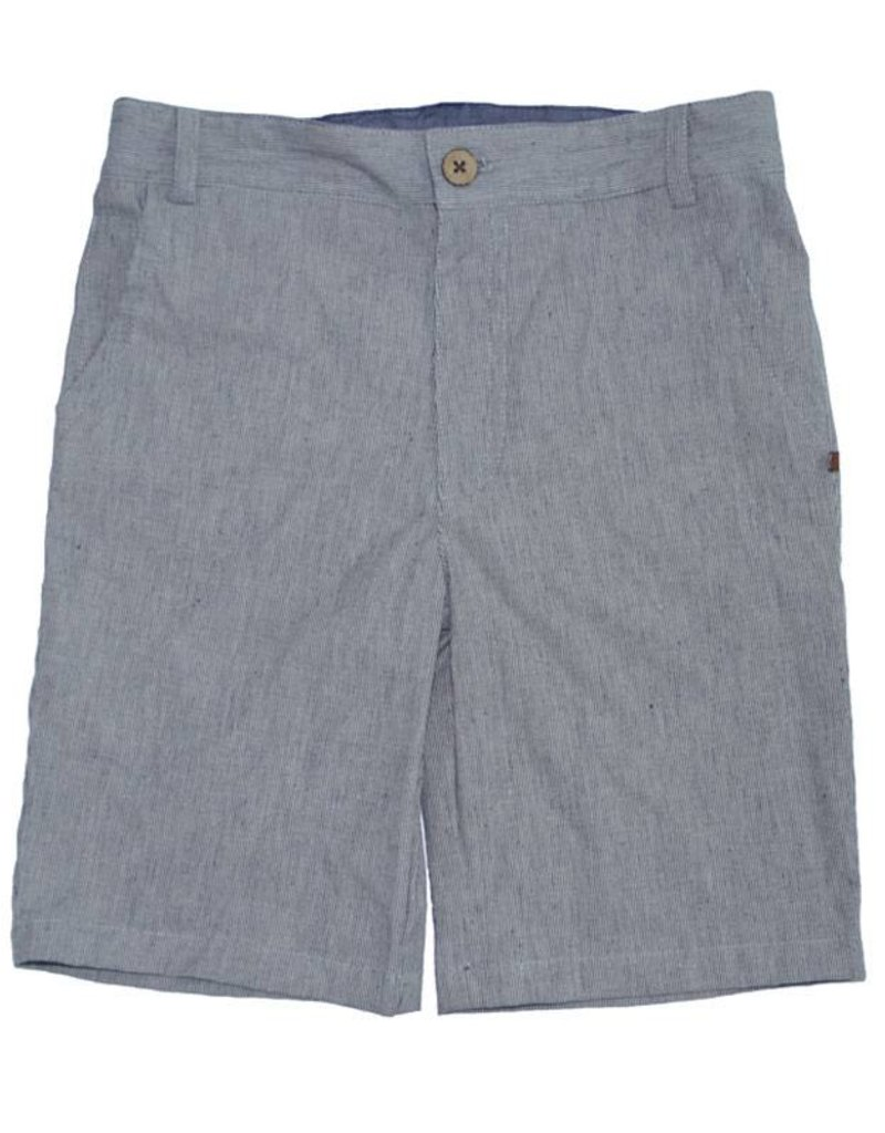 Fore Axel & Hudson Boys Dark Grey Pinstripe Shorts