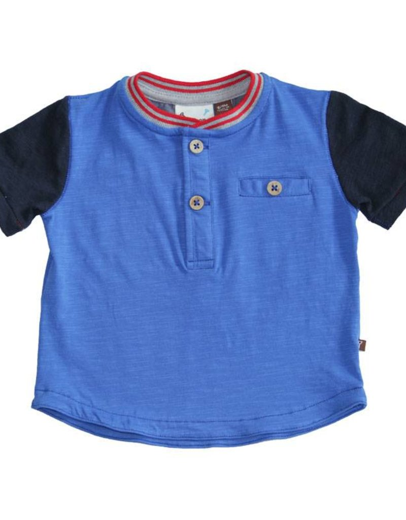 Fore Axel & Hudson Baby Boys Color Block Henley Set