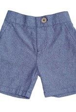 Fore Axel & Hudson Baby Boy Chambray & Red Set