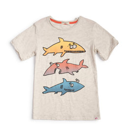 Appaman Khaki Shark Tee