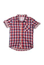 Appaman Red, White & Blue Check Shirt