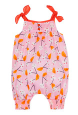 Catimini Pink & Orange Heart Romper