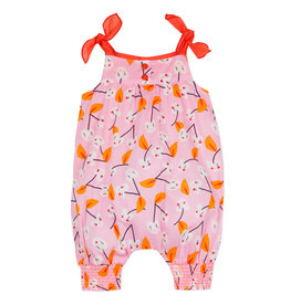 Catimini Pink & Orange Heart Romper