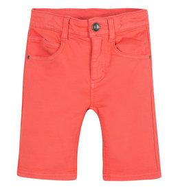 Orange Bermuda Shorts