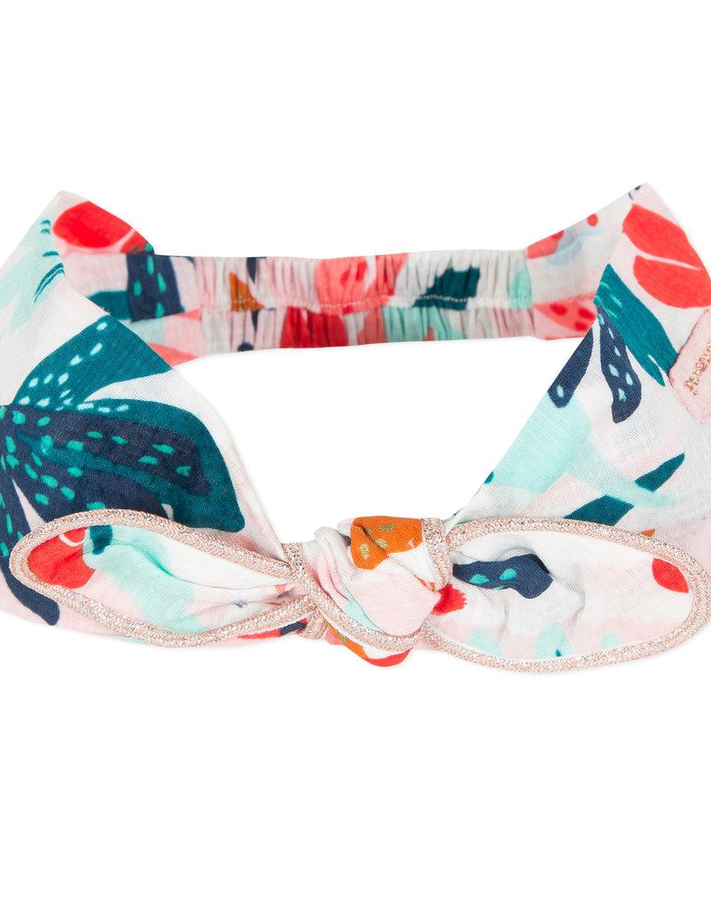 Catimini Blush & Teal Multi Print Headband