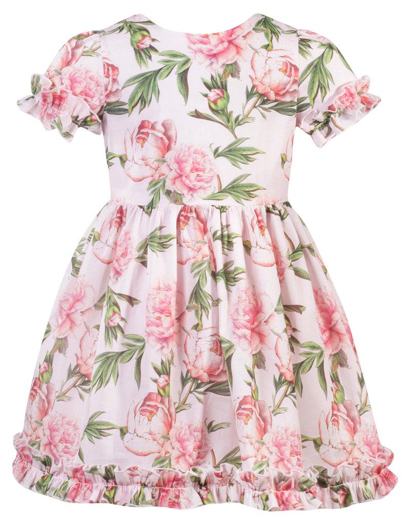 Patachou Girl Pink Roses Dress