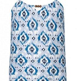 Blue Ikat Swimsuit