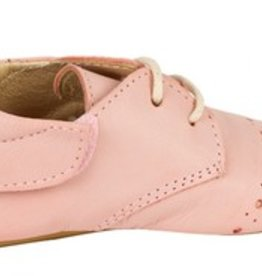 Young Soles Buddy Brogue Nude Pink