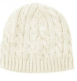 Toffee Moon Cable Knit Hat