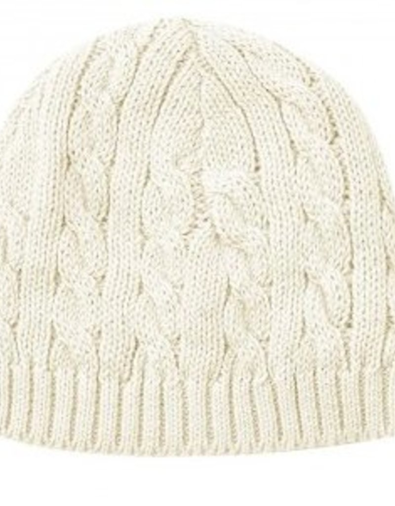 Toffee Moon Cable Knit Hat - Doodle   Stinker Children s Boutique 6cbe6e5d850