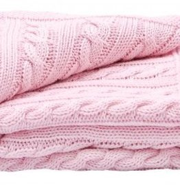 Cradle Pink Receiving Blanket