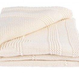 Cream Star Receiving Blanket