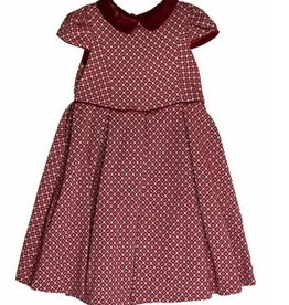 Luli & Me Jewel Jacquard Dress