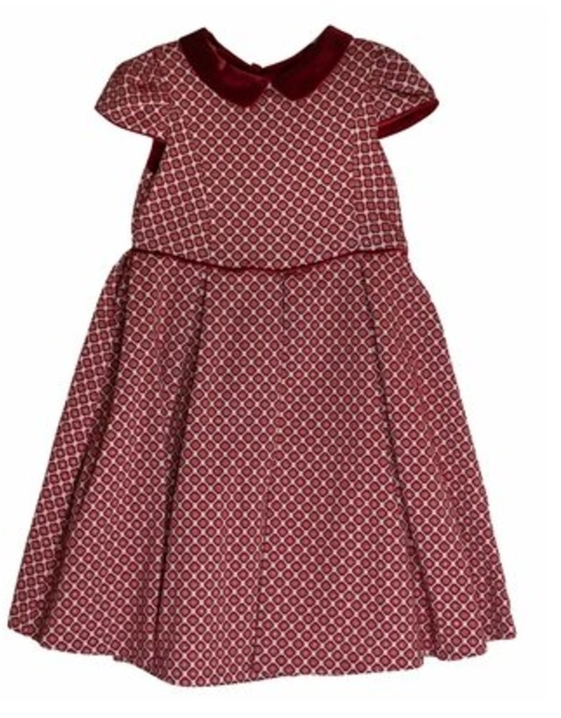 12eae0a34 Luli & Me Jewel Jacquard Dress - Doodle & Stinker Children's Boutique