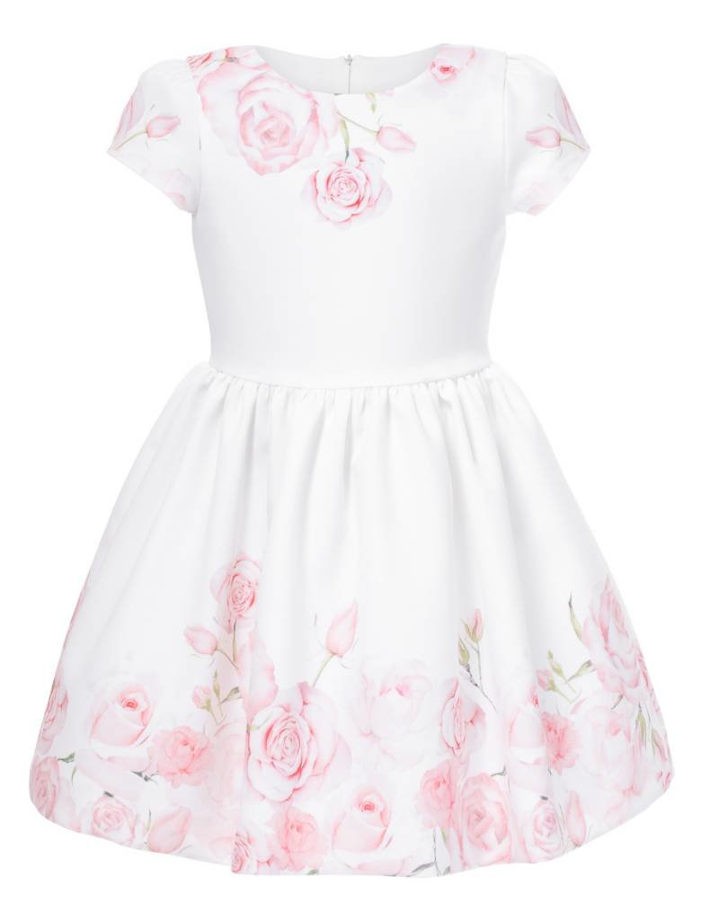1633a1191fb5 Pink Rose Print Dress - Doodle   Stinker Children s Boutique