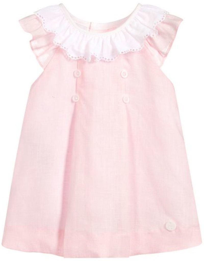 paz rodriguez Oceano Dress Pink