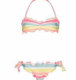 Sunuva Ruched Bikini Sorbet
